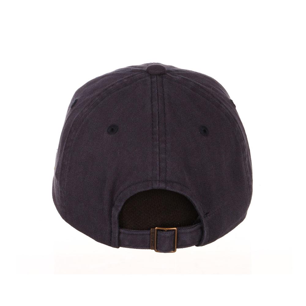 Zephyr Unisex Navy W Oar Scholarship Adjustable Hat – Back