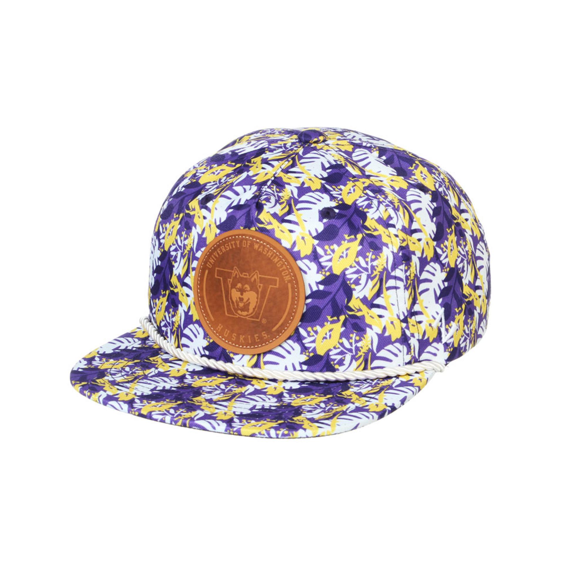 Zephyr Unisex Purple Vault Dog W Malibu Snapback Hat – Front