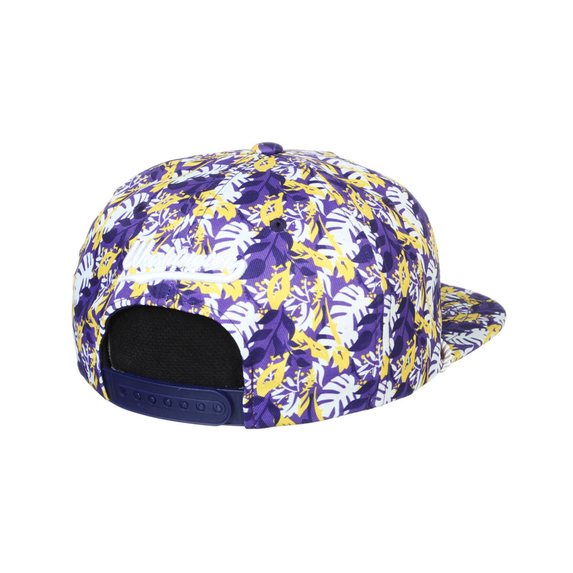 Zephyr Unisex Purple Vault Dog W Malibu Snapback Hat – Back