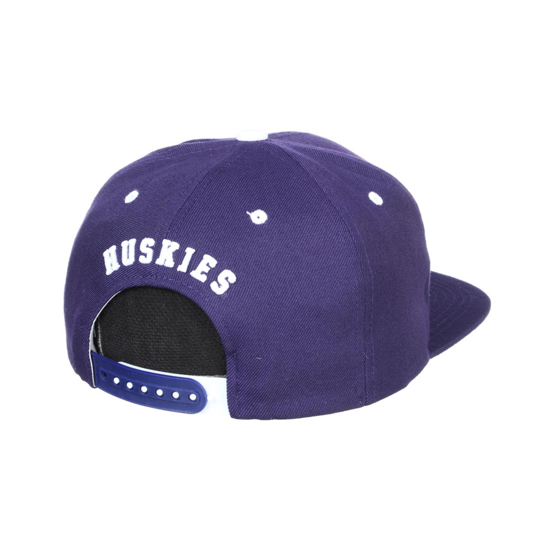 Zephyr Unisex Purple W Z11 Highlight Snapback Hat – Back
