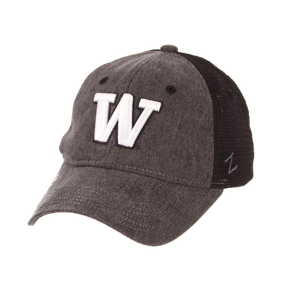 Zephyr Women's Black W Kennedy Adjustable Hat