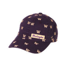 Zephyr Women's Purple Washington Hampton Adjustable Hat – Front