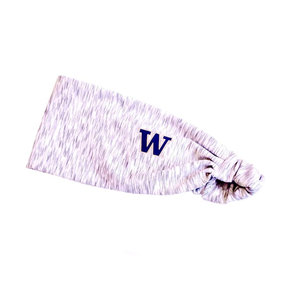 Zoozatz White W Headband