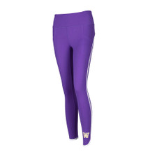 Zoozatz Women's W Pocket Scallop Legging