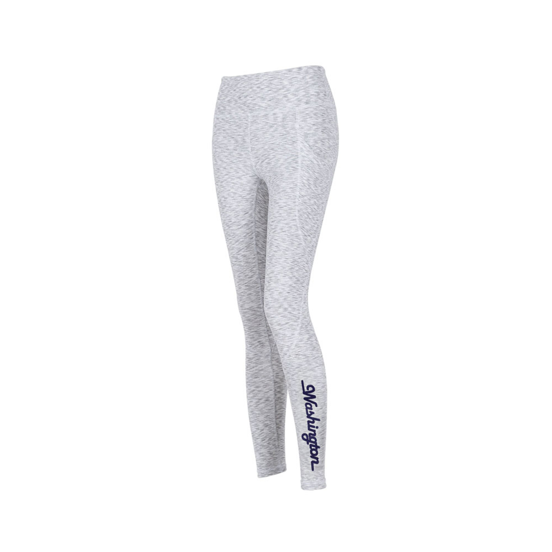 Zoozatz Women's Washington Pocket Legging – White