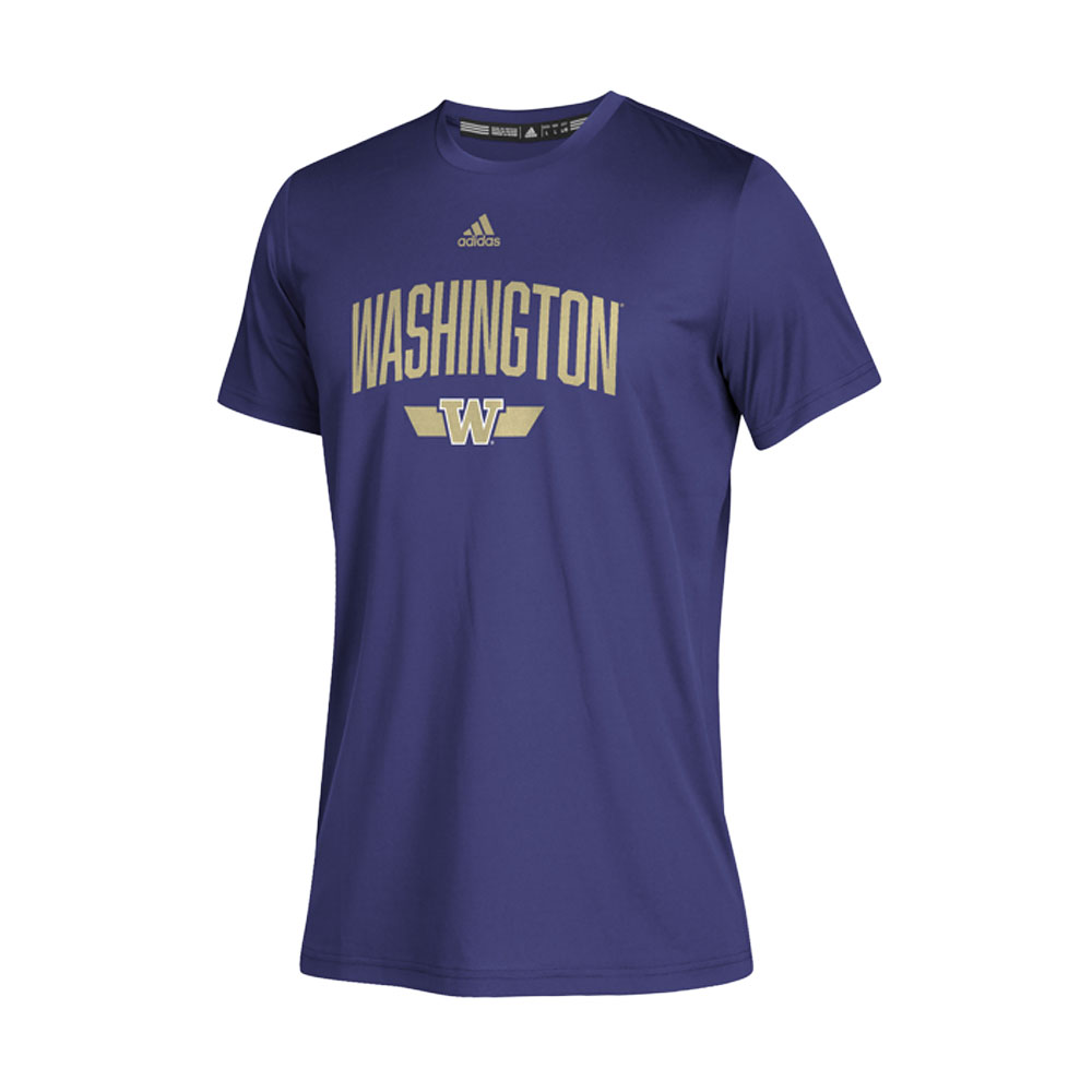 adidas Kids' Washington Locker Arched Creator Tee – Purple