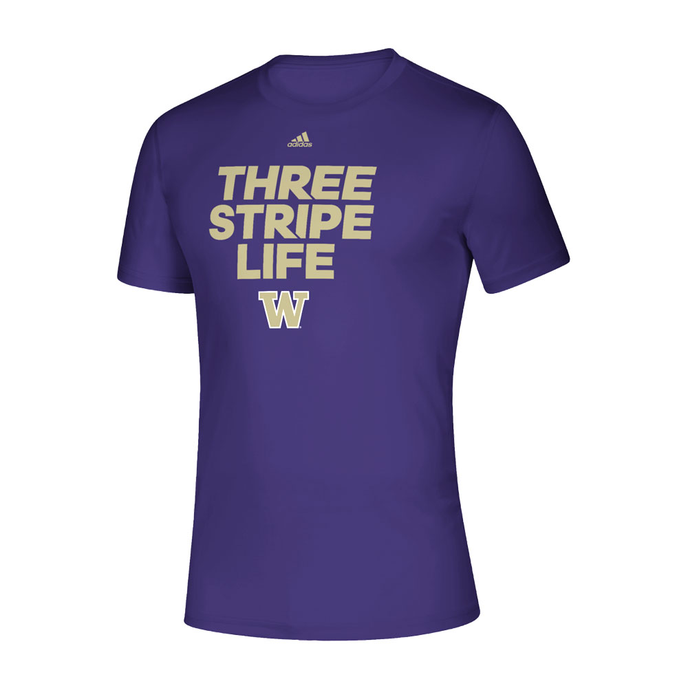 adidas Men's Three Stripe Life Creator Tee
