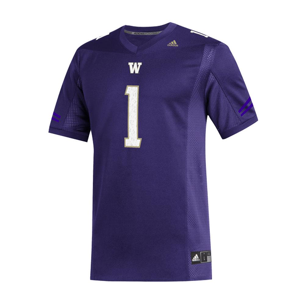 adidas Washington Huskies Replica Football Jersey Purple