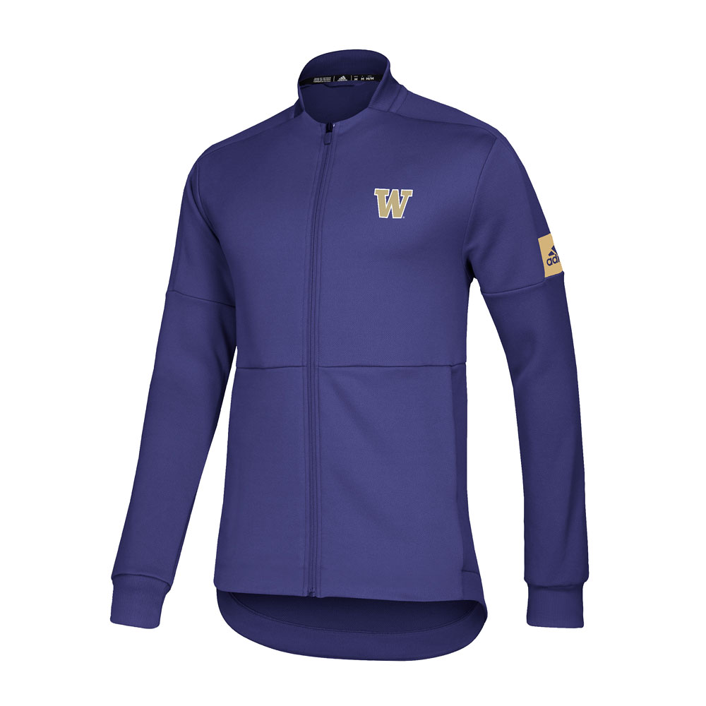 adidas Men's W Game Mode Bomber Jacket – Purple