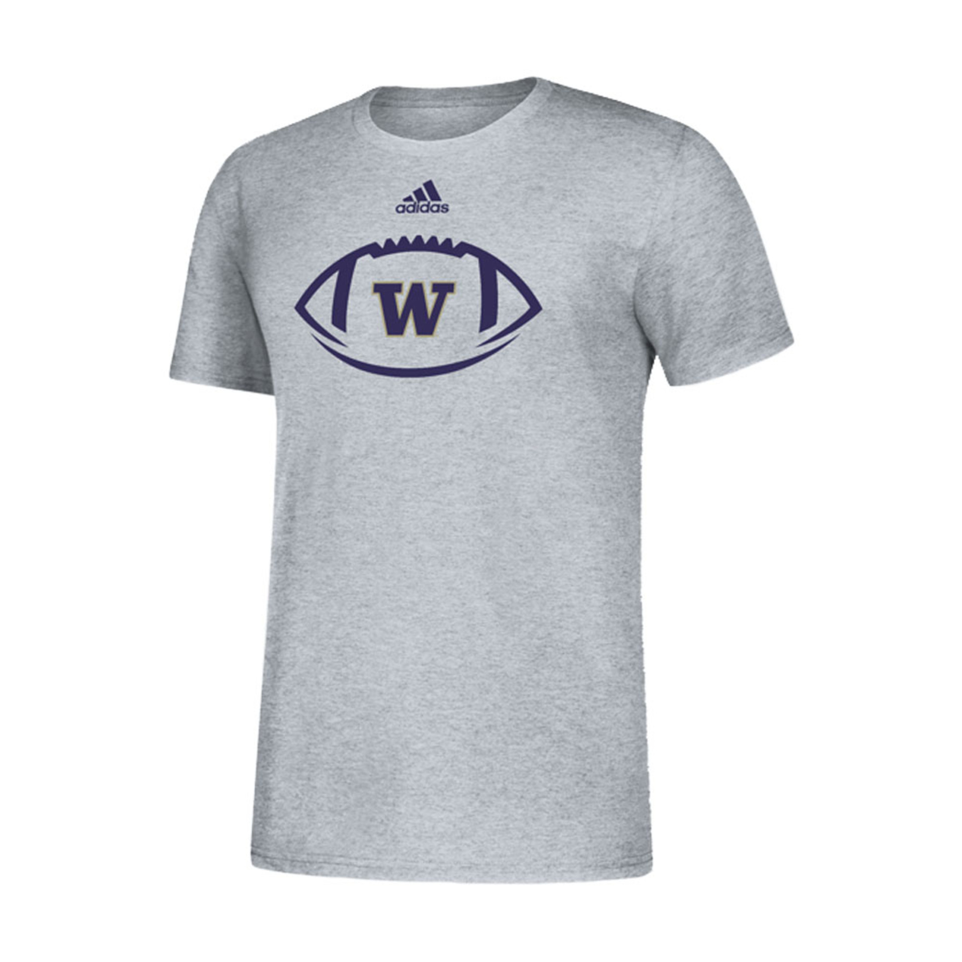 adidas W Locker Football Icon Amplifier Tee – Gray