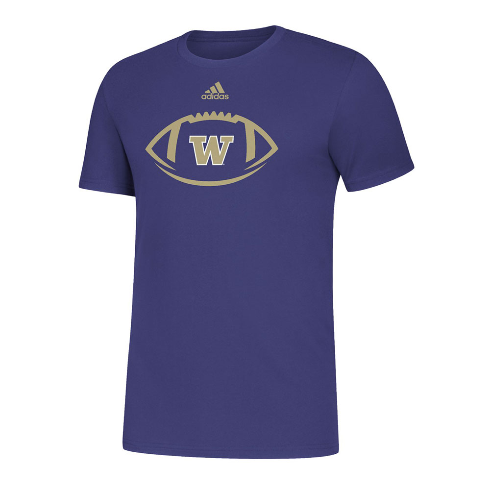 adidas W Locker Football Icon Amplifier Tee – Purple