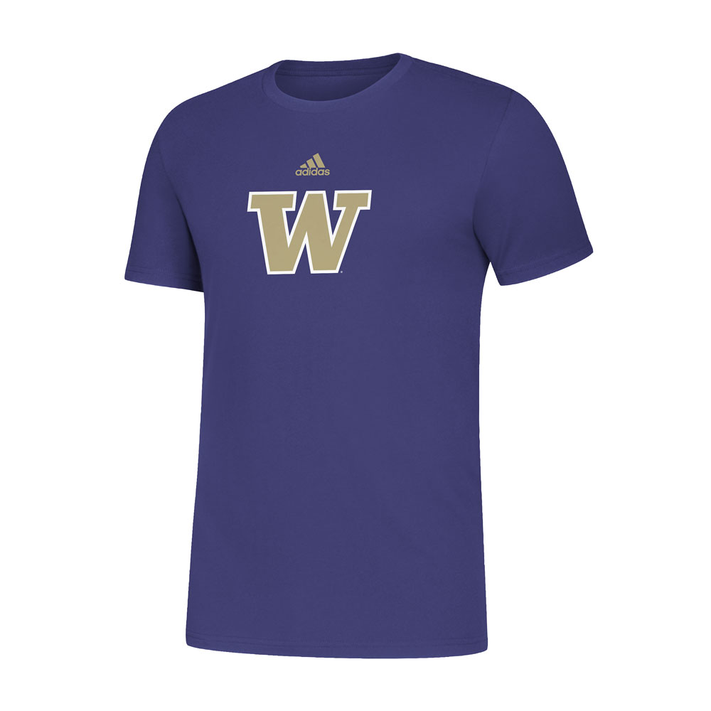 adidas Men's UW Primary Amplifier Tee – Purple