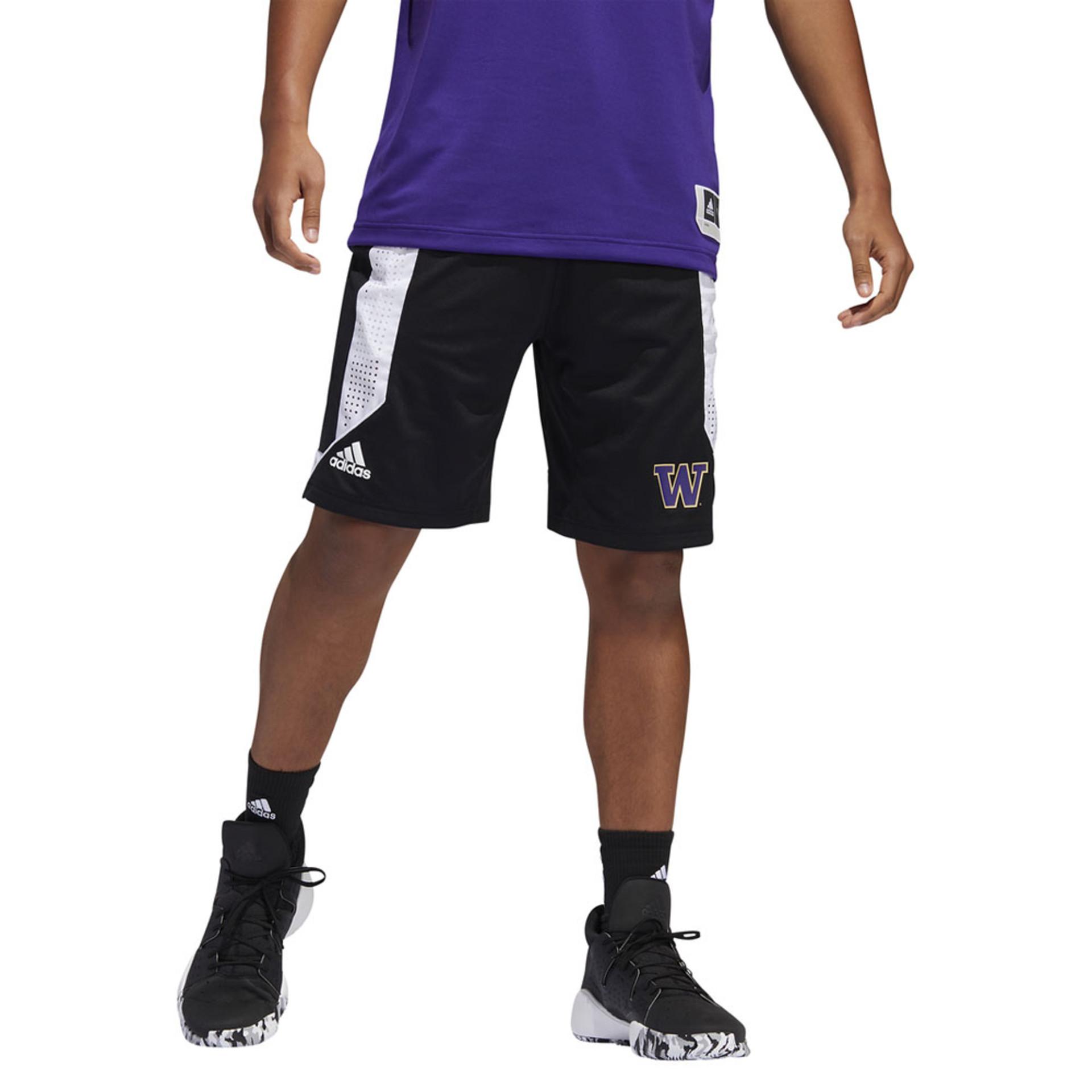 adidas Men's W Swingman Basketball Shorts – On Model