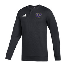 adidas Men's W Under The Lights Coaches Sweater – Black – Front