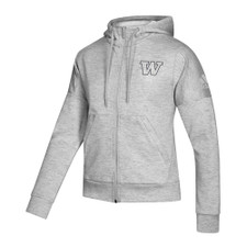 adidas Women's W Full-zip Hoodie – Gray