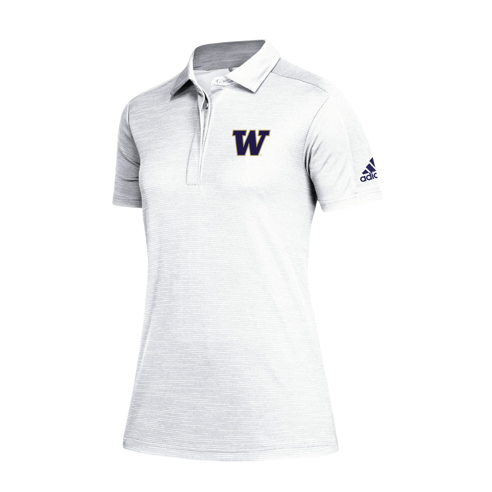 adidas Women's W Game Mode Climalite Polo – White