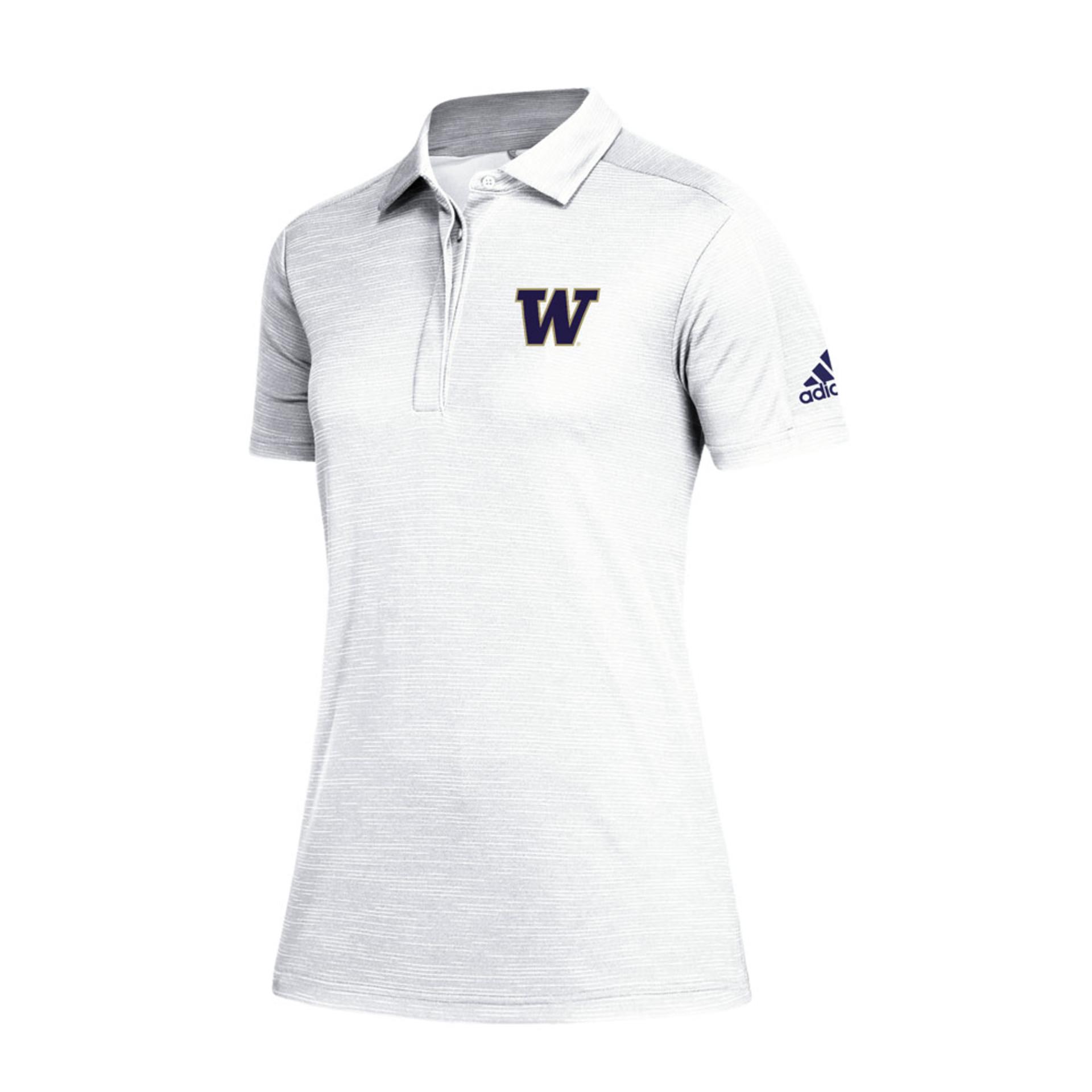 adidas Women's W Game Mode Climalite Polo – White