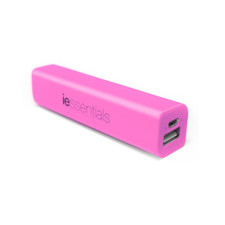 iEssentials USB 2600mAh Powerbank Pink