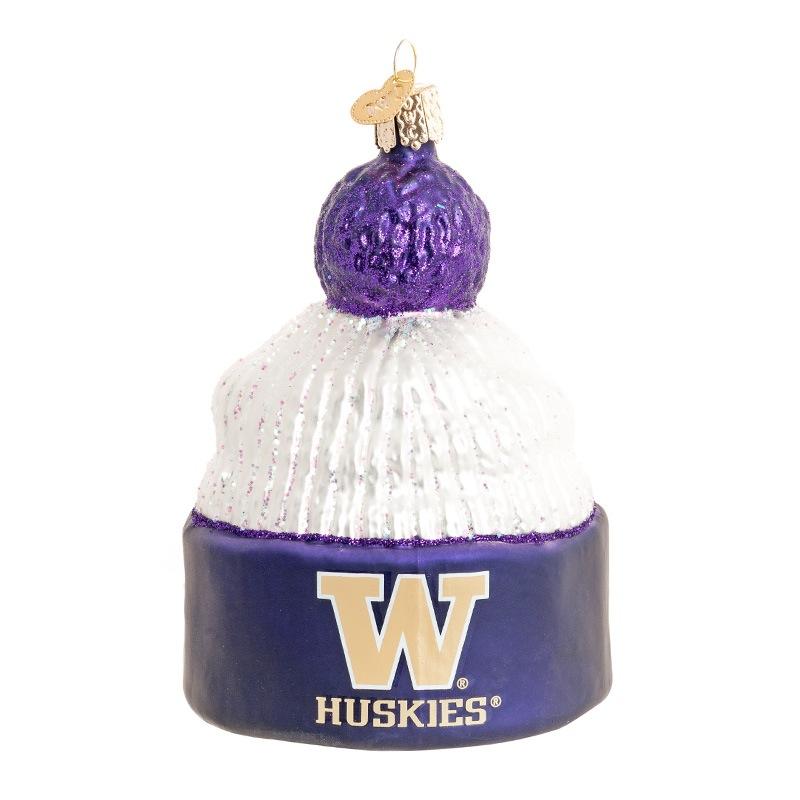 Washington Huskies Beanie Ornament